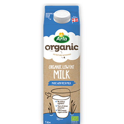 Organic Low Fat Milk 1L