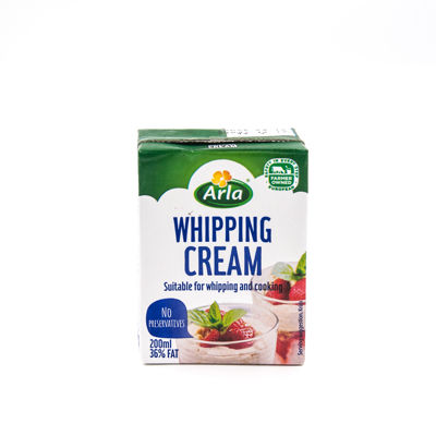 Arla Whipping Cream 200ml